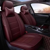Yuzhe Auto Leather car seat covers For Toyota RAV4 Land Cruise PRADO 150 COROLLA Prius Reiz CROWN automobiles car accessories