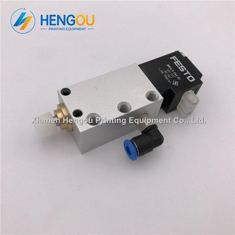 1 Piece M2.184.1071/04 electrovalve Heidelberg SM74 SM102 CD102 printing machine air cylinder M2.184.1071 AVLM-8-20-SA стоимость