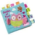 One Piece Fun Activity Book Cartoon Animal Soft Baby Educational Toy Cloth Book Intelligence Development Lepin Quiet Book Sep5