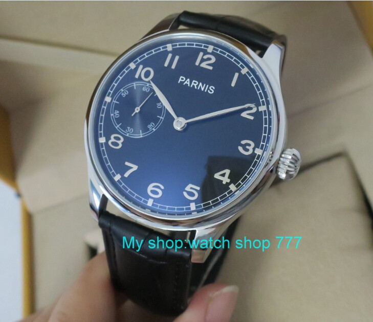 44mm PARNIS Black dial ST3600/6497 Mechanical Hand Wind movement Mechanical watches men's watches gfxy2 44mm parnis black dial st3600 6497 gooseneck mechanical hand wind movement mechanical watches men s watches gfxy9