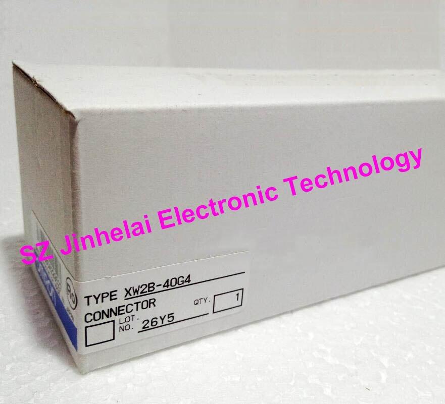 цена на 100% Authentic original XW2B-40G4 OMRON Connector terminal switching unit