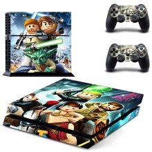 Anime One Piece PS4 Skin Sticker Decal Vinyl for Sony Playstation 4 Console and Controller PS4 Skin Sticker