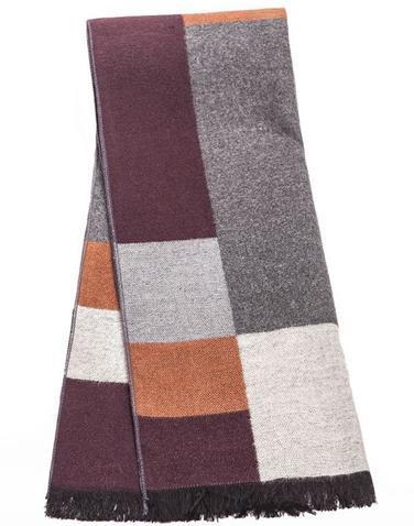 2017 recién llegado de brand design Hombres bufanda de invierno y el otoño de los hombres bufandas de calidad superior de warm wraps ventas al por mayor bufandas
