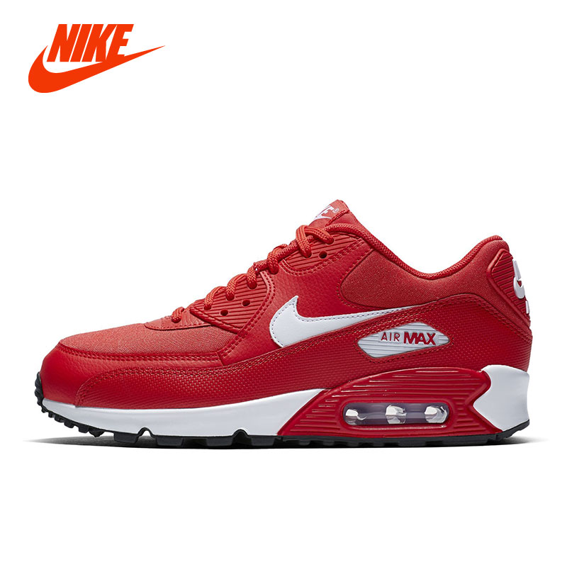 Original NIKE AIR. MAX 90 Women Running Shoes Lightweight Damping Girl Children Sport Sneakers Casual Shoes nike air max 90 красно белые
