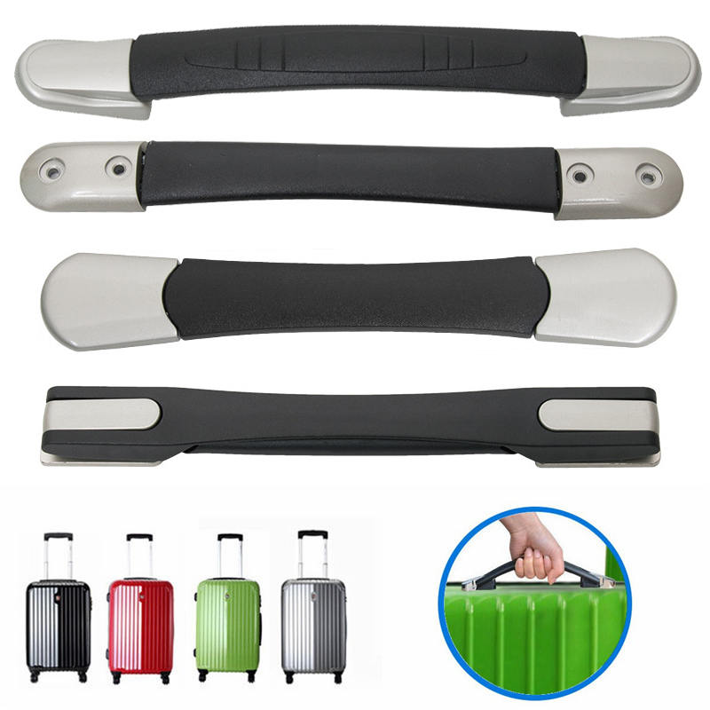 Replacement Luggage Handles For Suitcases Repair Part Handle Fix Holder Rubber Pull Carry Strap Luggage Repair Accessories