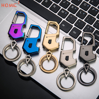 Auto LED Light Metal Keyring Car Bottle Opener Keychain For Daihatsu Dodge Cadillac Ducati Acura Abarth