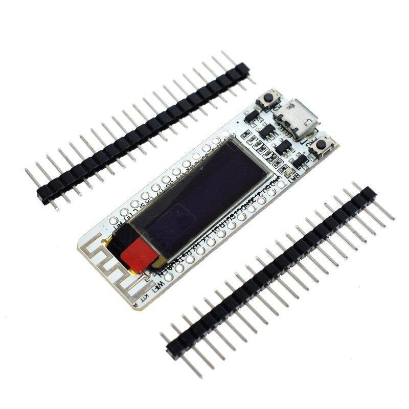 Puce WIFI ESP8266 0.91 pouces OLED CP2014 32 mo Flash ESP 8266 Module Internet des objets carte PCB pour NodeMcuPuce WIFI ESP8266 0.91 pouces OLED CP2014 32 mo Flash ESP 8266 Module Internet des objets carte PCB pour NodeMcu