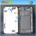 Original Replacement Parts housing middle panel+back cover for Samsung for galaxy Note 2 N7100 1 piece lot free shipping
