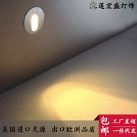 5W Aluminum Triangle Led Wall Lamp AC90 265V High Power Led Modern Home Lighting Indoor Outdoor