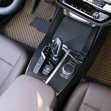 Для bmw x3 x4 g01 g02 2018 19 автомобильные аксессуары из углеродного