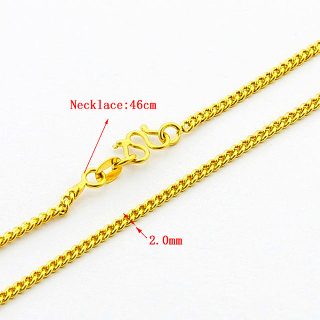 NEW Fashion women/lady Curb/rope/ball beads chain design  yellow golden jewelry necklace CRE019