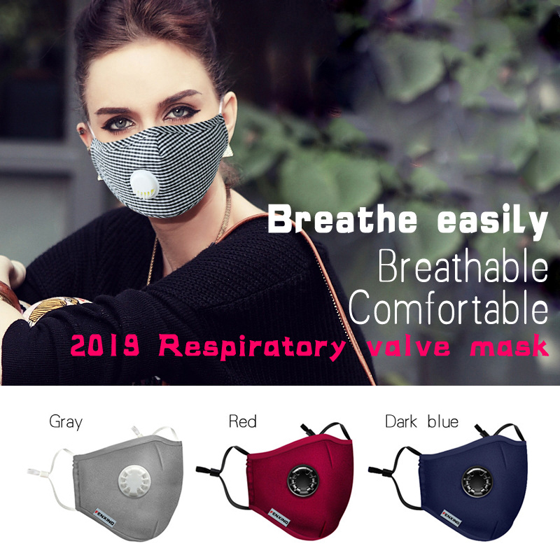 Dust Mask Anti Pollution Mask Air Filter Mask N95 Breathable And Washable Anti PM2.5 Exhaust Gas Pollen Allergy Mask Respiratory