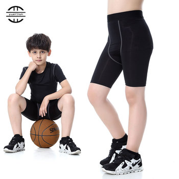 Children Football Quickly Dry Compression Shorts