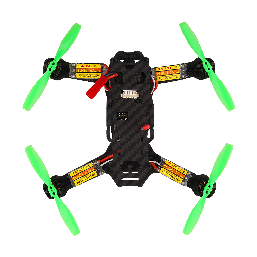 Weyland Tarot TL120H1 120mm Carbon Fiber Frame for FPV Racing Drone Mini Quadcopter rc RC Four Axis Aircraft  RTF free shipping carbon fiber mini 250 rc quadcopter frame mt1806 2280kv brushless motor for drone helicopter remote control