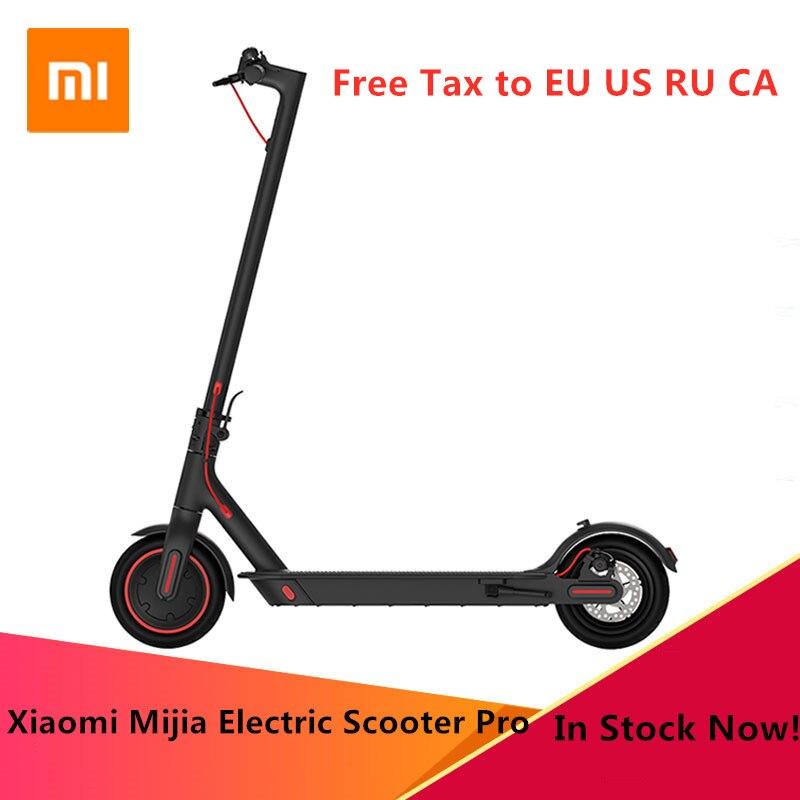 Original Xiaomi Mijia Pro Smart Scooter Eléctrico plegable Hoverboard Skate de KickScooter Mini dos ruedas 45 KM Scooter