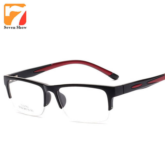 3c775faa5abb1 Moda Óculos Homens TR90 Armações de Óculos de Miopia Masculino óculos de  Computador Limpar Lens Prescrição