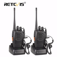 2 Pcs Retevis H777 Portable Walkie Talkie 16CH UHF 400 470MHz Ham Radio Hf Transceiver 2