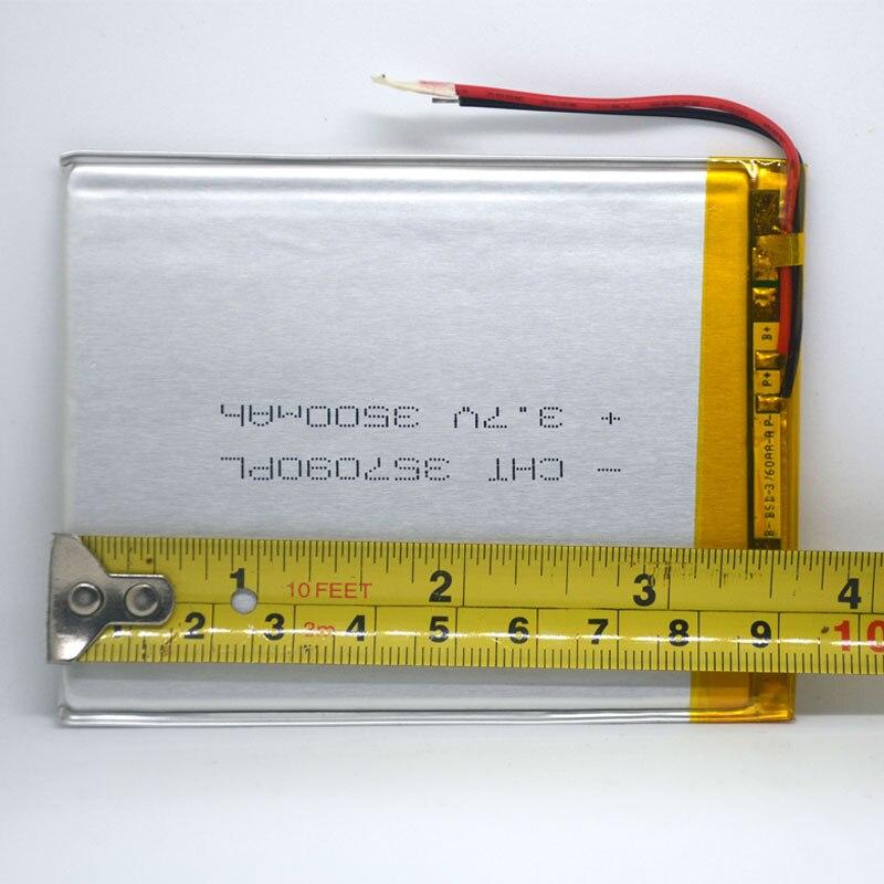 7 pulgadas tableta universal 3.7v 3500mAh batería de polímero de - Accesorios para tablets - foto 4