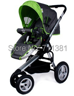 3 Wheel Baby Strollers With Car Seat - Seat