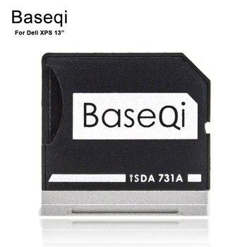 Adaptador Micro SD de Baseqi, Unidad de Metal Ninja Stealth, lector de tarjetas Extra Disk para portátil Dell XPS de 13 , MicroSD a lector de tarjetas SD 731A