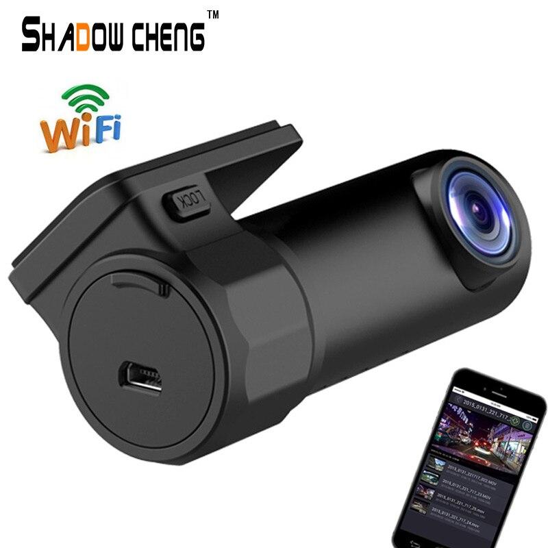 imágenes para Mini WIFI Cámara Del Coche DVR FHD1080P Registrador Digital Video Recorder Dash Cam Camino Videocámara APP Monitor de Visión Nocturna Inalámbrica DVR
