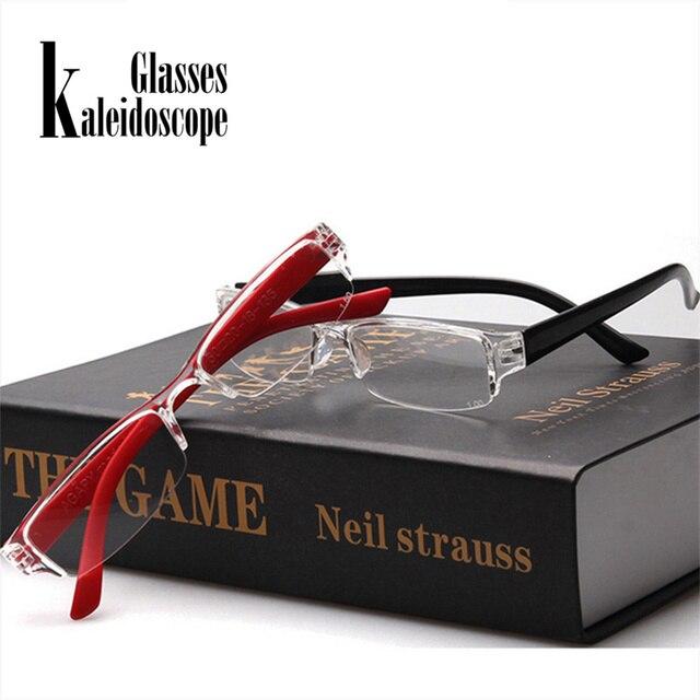 Kaleidoscope Glasses Men Women Reading Glasses Ultralight Eyebrows Hyperopia Glasses Resin Anti-fatigue Lense Reading Eyewear