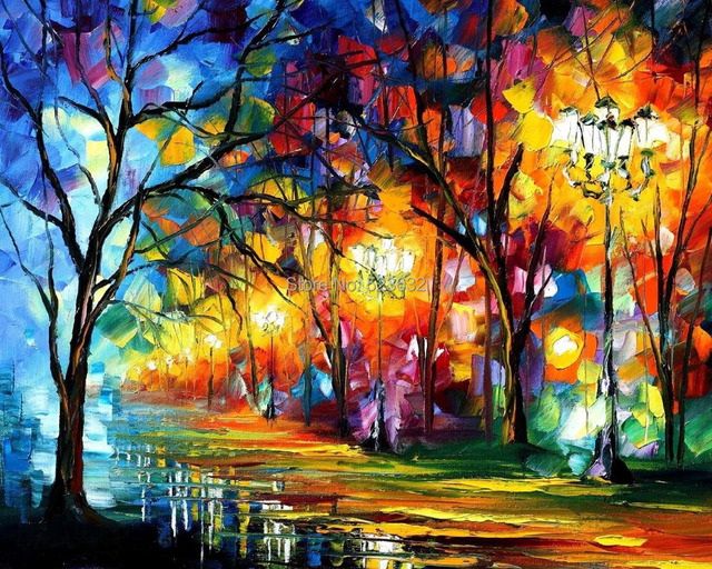 Road scene 50 x40 coloured drawing or pattern DIY Diamond Painting ...