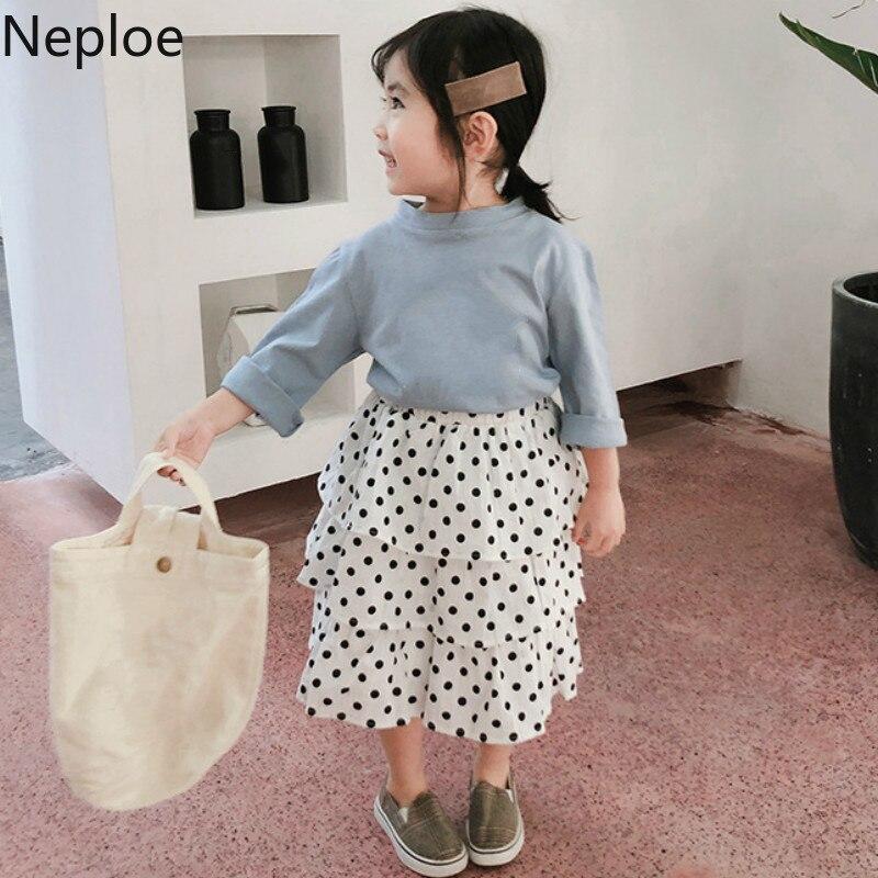 Neploe Skirts Summer Polka-Dot Kids Sweet New-Fashion Casual 43942 Bottoms Baby's