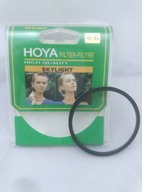 58 62 67 72 77mm HOYA Skylight Lens Filter for Camera lens
