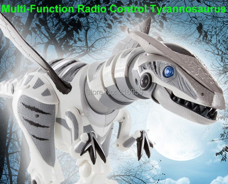 New dragon tyrannosaurs acoustooptical ultralarge Electronic remote control Walking dinosaur Tyrannosaurus Rex Electric toy dinosaur walking rex