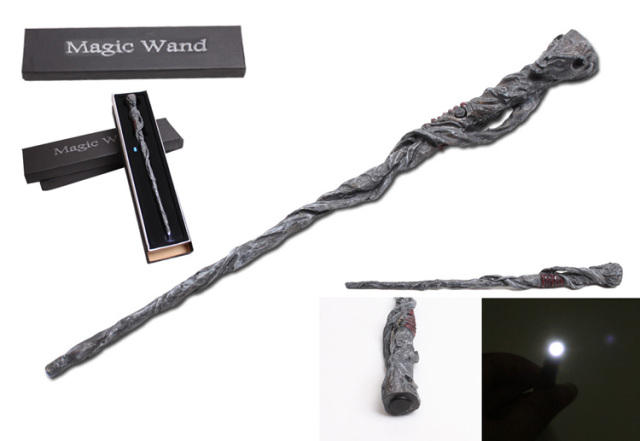 Free Shipping Christmas gift HP Alastor Moody Magical Wand New In Box wtih Led Light