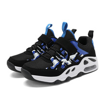 ULKNN Boys sneakers  spring autumn big childrens tide black shoes primary school Kids boys sports size 28-38