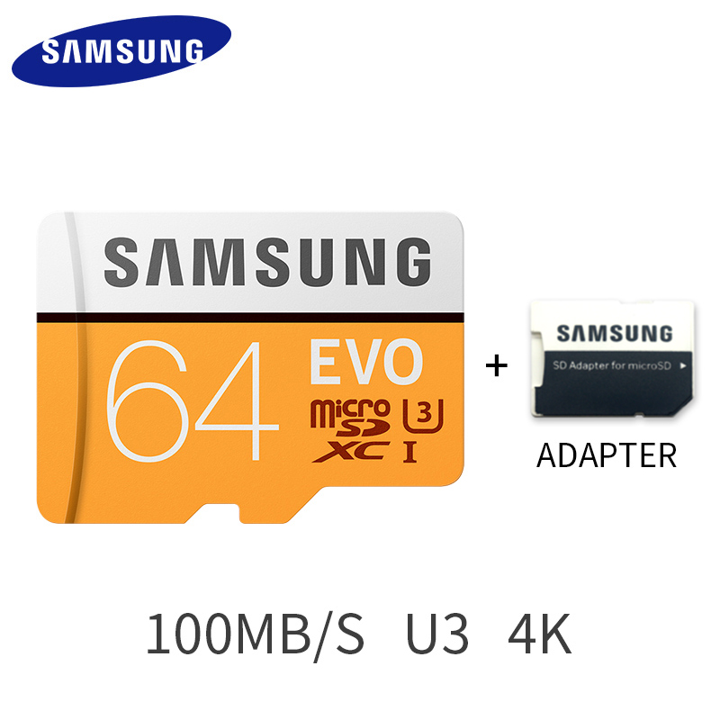 Image 4 - SAMSUNG Micro SD Memory Card 32G 64G 128G 256 MicroSD Cards SDHC SDXC Max 95Ms EVO 32GB 64GB C10 TF Trans Flash Micro Card-in Micro SD Cards from Computer & Office