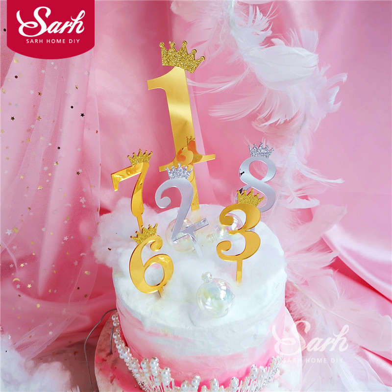 Admirable Top 10 Number Cake Toppers Birthday Gold Near Me And Get Free Funny Birthday Cards Online Inifofree Goldxyz