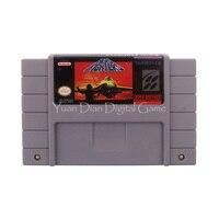 Nintendo SFC SNES Video Game Cartridge Console Card Aero Fighters USA English Language Version