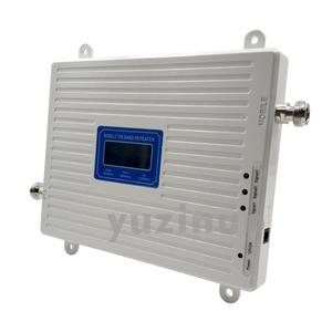 Image 4 - 2G 3G 4G Tri Band Booster GSM 900 + (B1) UMTS WCDMA 2100 + (B7) FDD LTE 2600 טלפון סלולרי משחזר 900 2100 2600 נייד אות מגבר