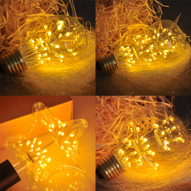 Light Bulbs Lights & Lighting T225 A19 St64 G80 G95 G125 Diamond Heart,3w 2200k,edison Led Filament Light Bulb,e27 220-240vac,decorative Pendant Lamp Delicacies Loved By All