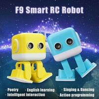 Cubee RC Intelligent Robot Smart Bluetooth Speaker Musical Dancing Toy Atrractive LED Face Desk Gift Gesture gifts