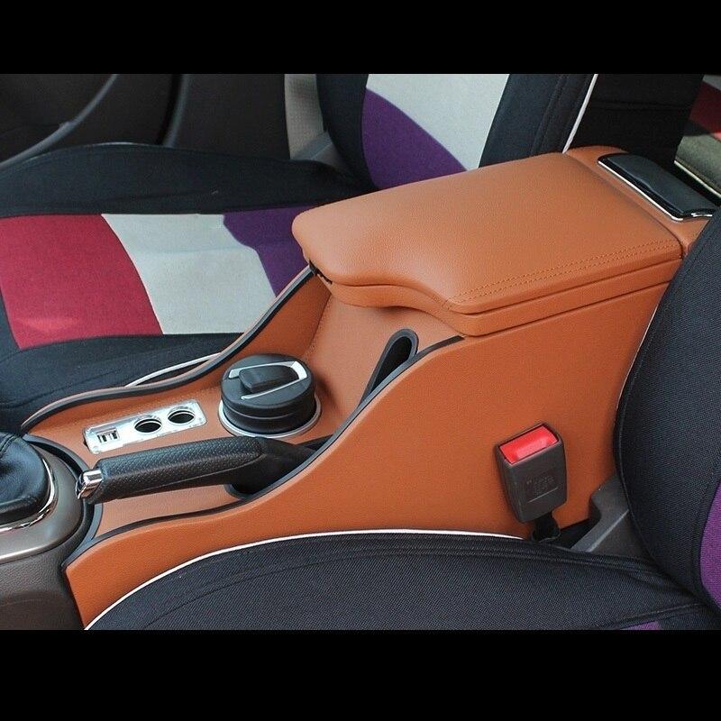Protetor de Braço Carro Descanso-Car styling Acessórios de Automóveis Acessório Peças de Modificação 15 Caixa Apoio de Braço PARA Chevrolet Cruze
