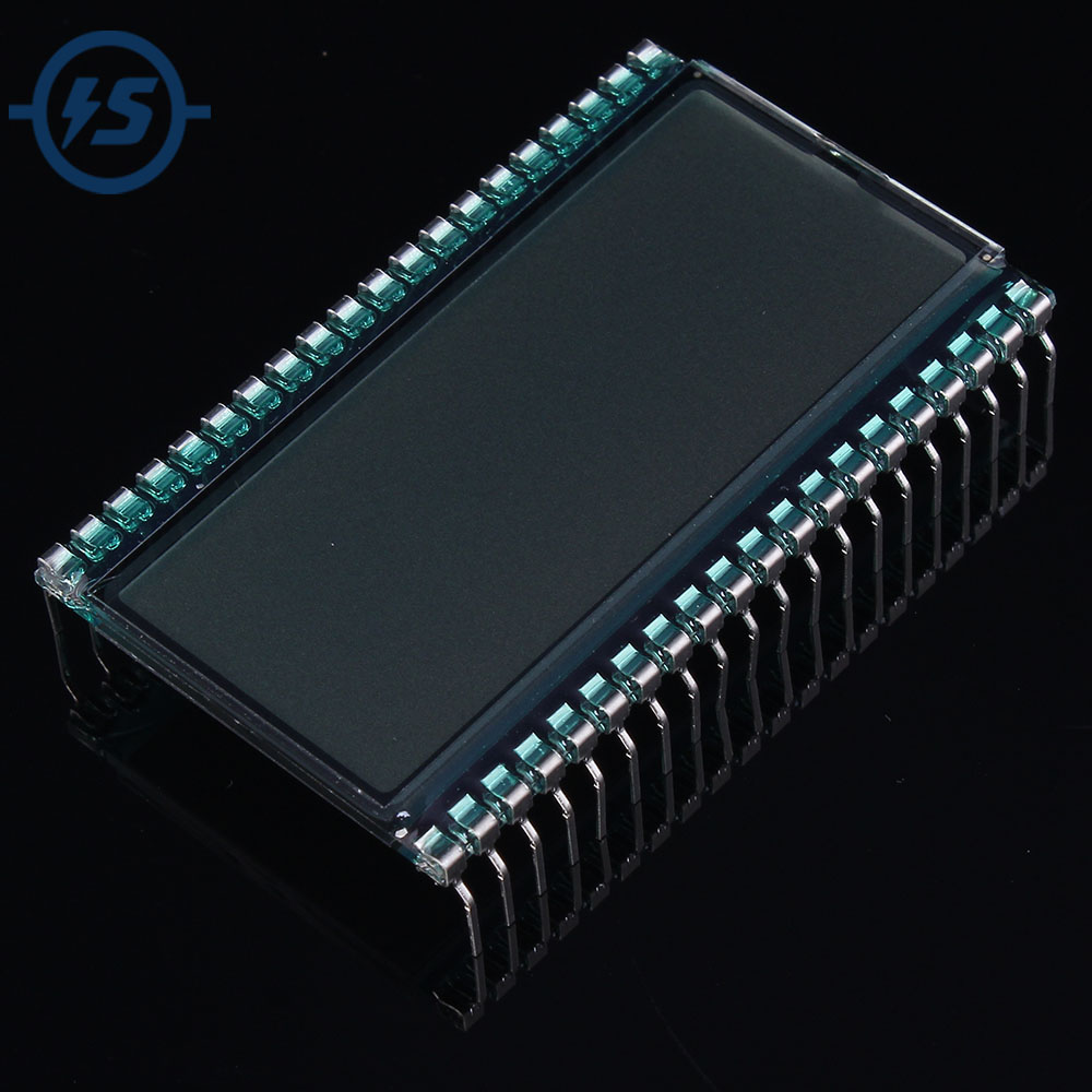 LCD Display Screen Semitransparent 5V 3.5 Digit Segment EDS803 TN Type Static Driving 50.8x30.48x2.8mm