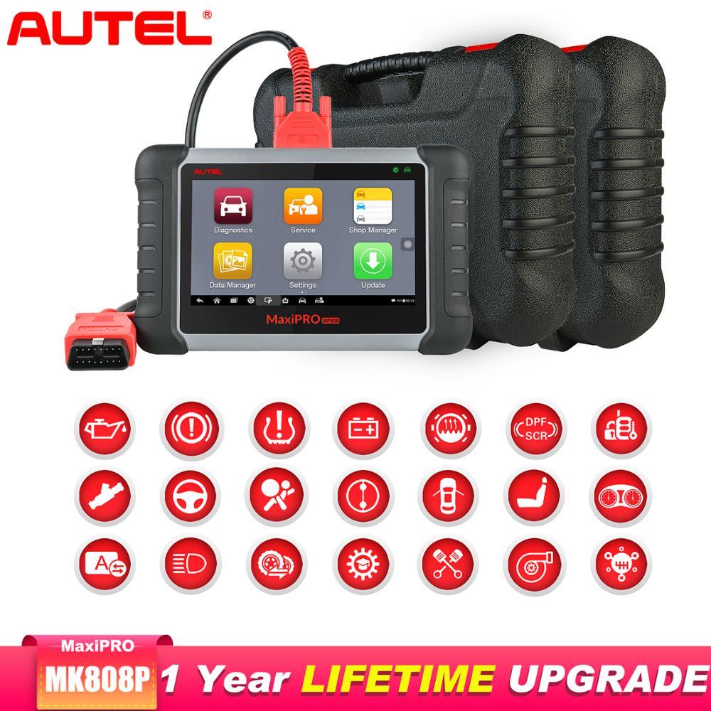 Autel MaxiPRO MP808K outil de diagnostic de voiture Automotivo clé de codage OE-niveau Batter que Autel MP808 lancement x431 pro
