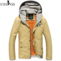Brand Men Jackets 2016 Autumn Fashion Hooded Jacket Men Clothes Slim Winter Casual Men's Solid Jackets And Coat Asian Size Z2667