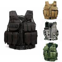 Tactical Vest Men CS Molle Armor Vest Outdoor Military Tactical Vest Army Hunting Body Outdoor Pistol Airsoft Equipment Camping
