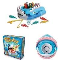 Fashion Big White Haifisch-kiefer Angeln Tabelle Brettspiel Verbessern Parenthood Spielzeug m15