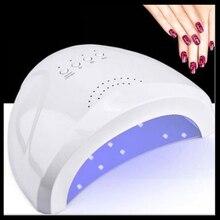 48W UV Lamp Nail Polish Dryer 30LEDs Light 5S 30S 60S Drying Fingernail&Toenail Gel Curing Nail Art Dryer Manicure цены