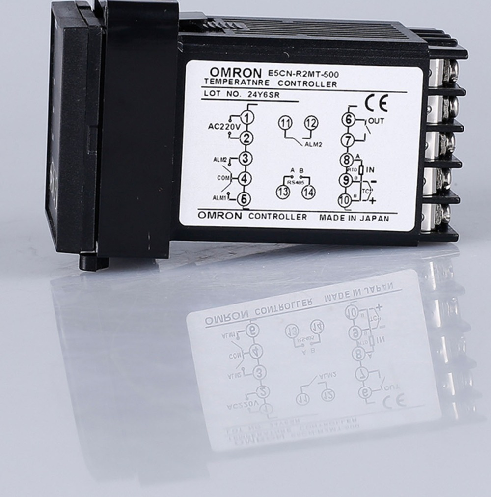 New Temperature Controller E5CN-R2MT-500 100-240V AC E5CNR2MT500 temperature controller fits omron e5cn r2mt 500 100 240vac new in box