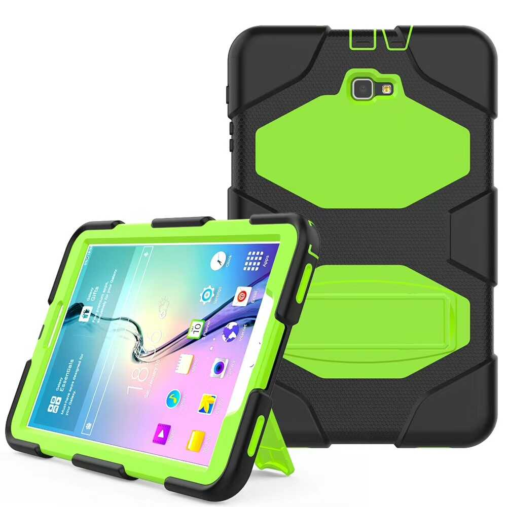 Cover Case For Samsung Galaxy Tab A a6 10.1 2016 T585 T580 SM-T580 T580N Case Funda Cover Shell Tablet+Pen
