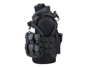 Image 4 - Тактический жилет с 11 карманами для мужчин, Охотничий Жилет для улицы, военный тренировочный жилет, защитный модульный жилет безопасности