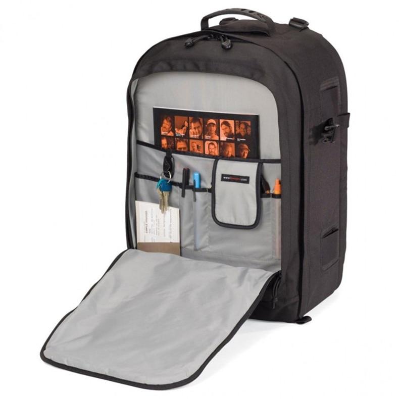 Lowepro Genuine Pro Runner 450 AW Urban-inspired Photo Camera Bag Digital SLR Laptop 17 Backpack For Photojournalists