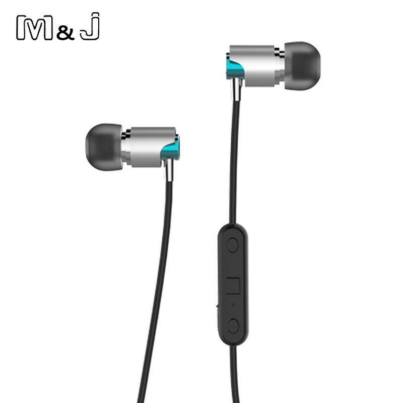 Jiabosi Sport Bluetooth Earphones Sweatproof Wireless Earbuds With Mic Stereo Sound Magnet Attraction Earphone For Mobile